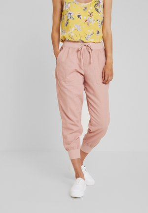 UTILITY JOGGER - Trousers - blush pink