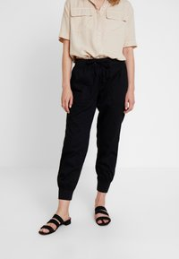 GAP - UTILITY - Spodnie treningowe - true black - 0