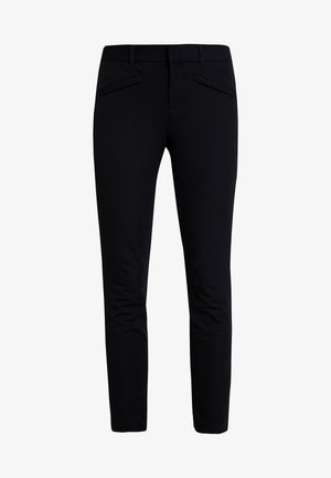 BISTRETCH - Trousers - true black