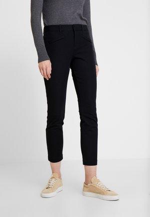 BISTRETCH - Kalhoty - true black