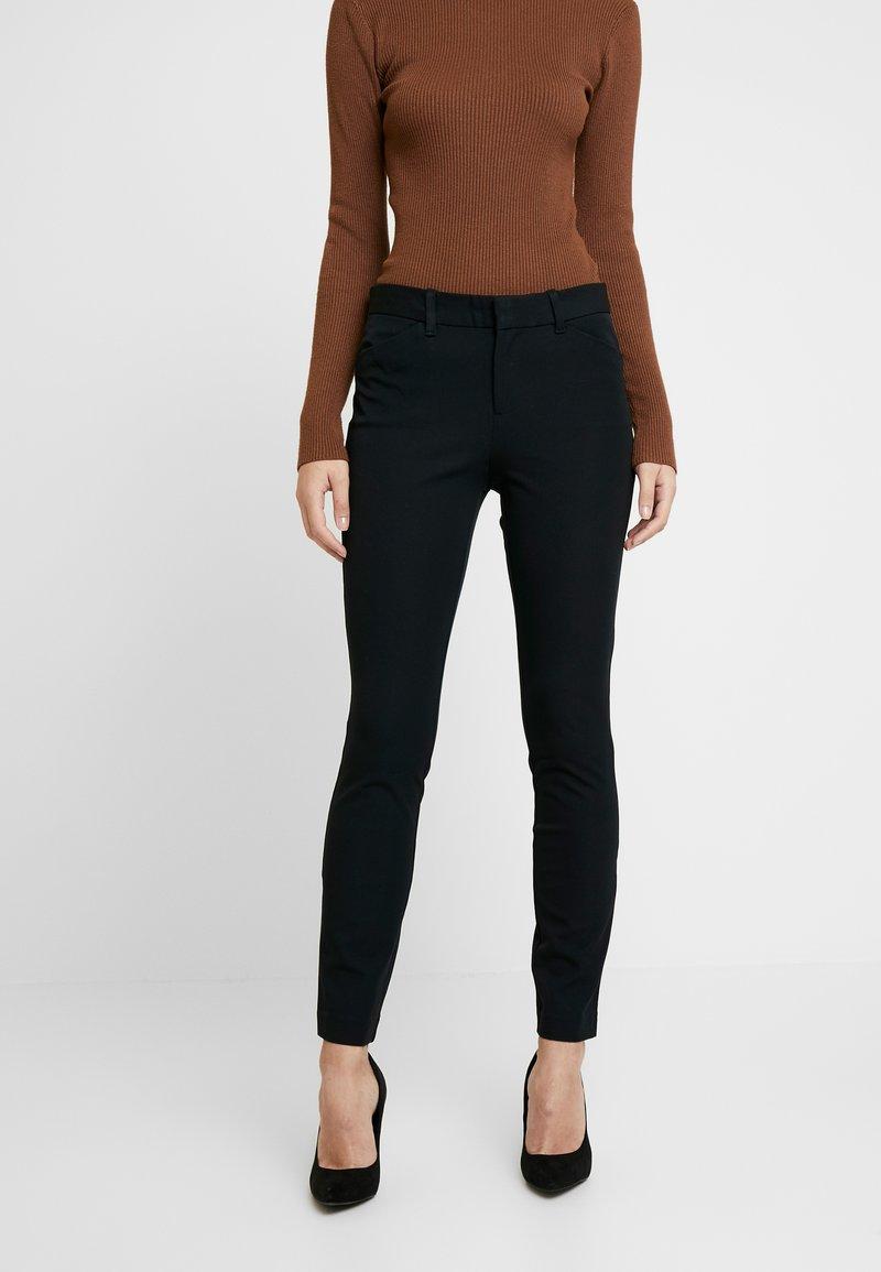 GAP - BISTRETCH LONG - Trousers - true black
