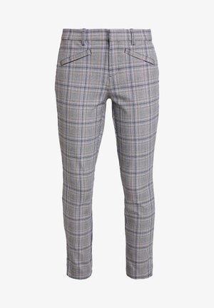 SKINNY ANKLE - Kalhoty - grey plaid