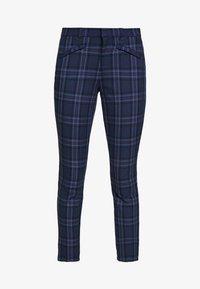 GAP - SKINNY ANKLE - Pantaloni - blue combo - 4