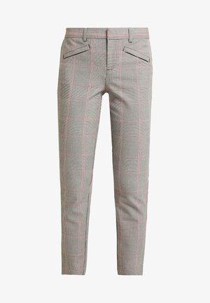 ANKLE - Pantalon classique - grey/pink