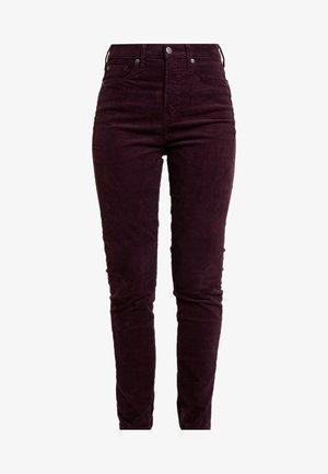 SKINNY - Pantalones - rich wine
