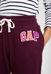GAP - Teplákové kalhoty - secret plum - 4