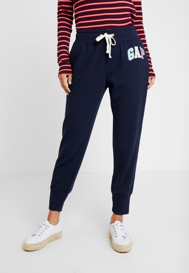 GAP - Tracksuit bottoms - navy uniform