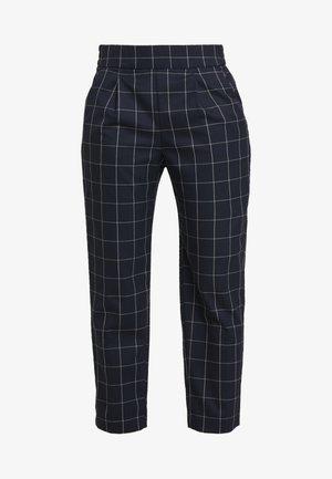 SLIM PULL ON - Pantalon classique - navy