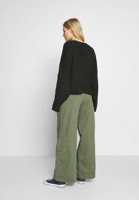 GAP - HI-RISE PLEATED - Trousers - greenway - 2