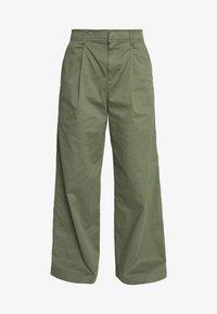GAP - HI-RISE PLEATED - Trousers - greenway - 3