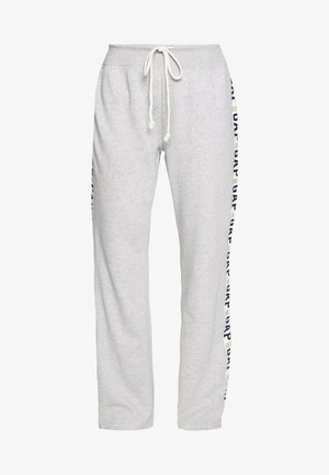 LOGO STRAIGHT LEG - Træningsbukser - grey heather