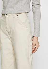 GAP - HIGH RISE CARPENTER - Bukse - french vanilla - 5