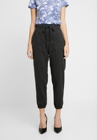 GAP - WARM HANDED JOGGER - Bukse - charcoal heather - 0