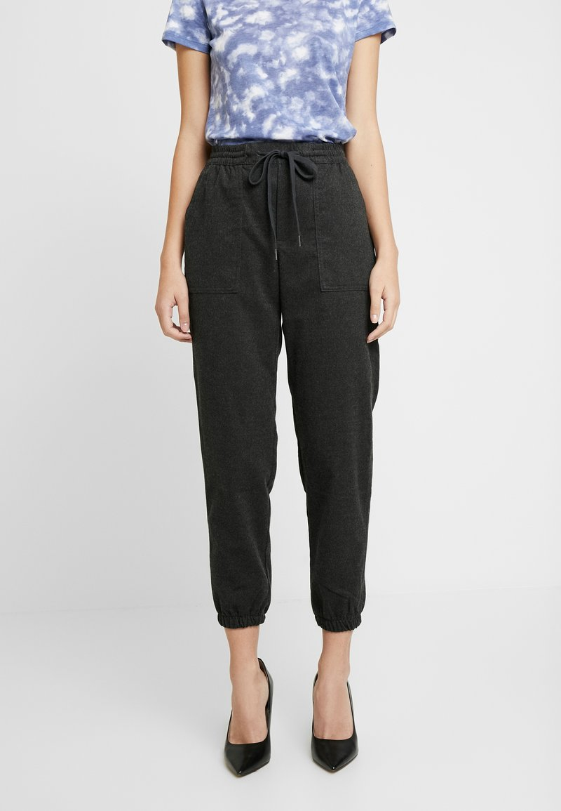 GAP - WARM HANDED JOGGER - Bukse - charcoal heather
