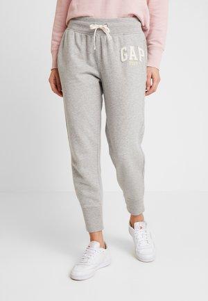 GAP LOGO - Tracksuit bottoms - light heather grey