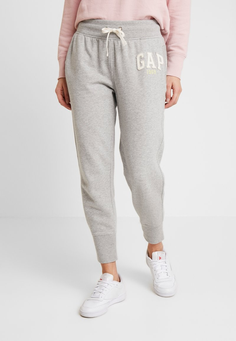 GAP - GAP LOGO - Tracksuit bottoms - light heather grey
