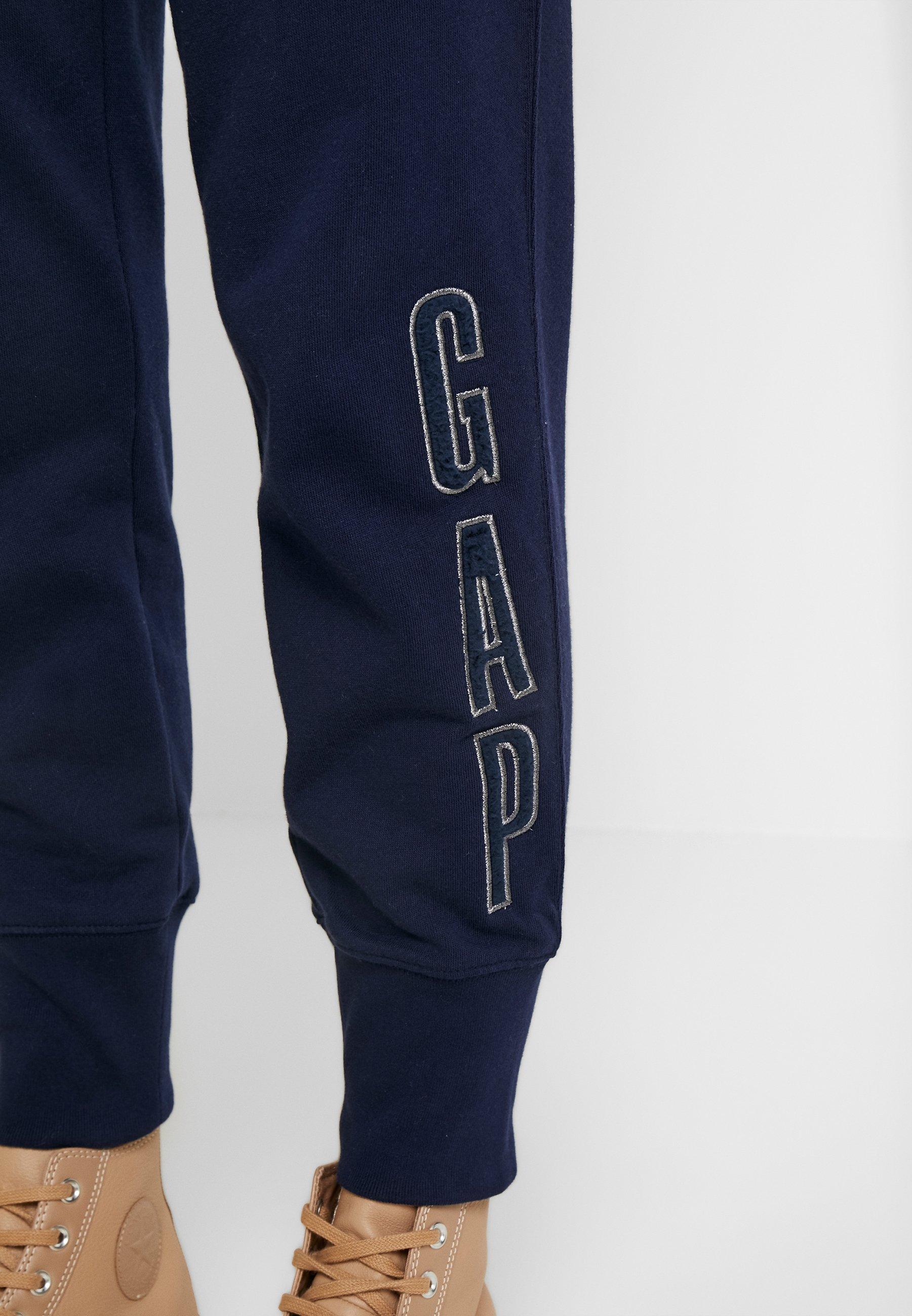 GAP SHERPA - Spodnie treningowe - navy uniform