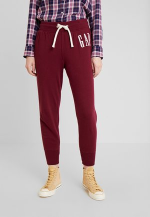 Tracksuit bottoms - bell burgundy