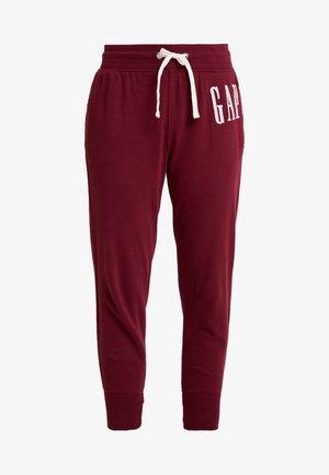 Pantaloni sportivi - bell burgundy