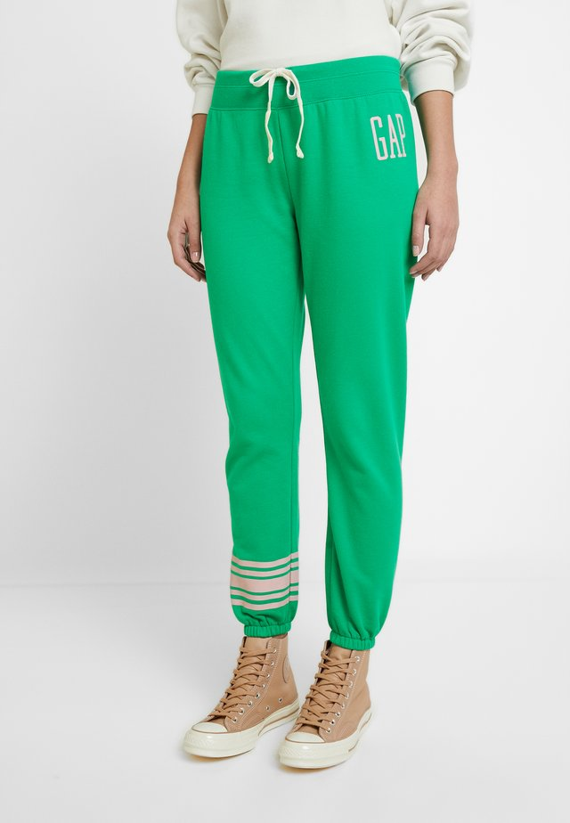 Tracksuit bottoms - new kelly green