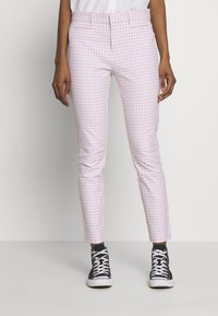 GAP - ANKLE  BISTRETCH - Trousers - pink - 0