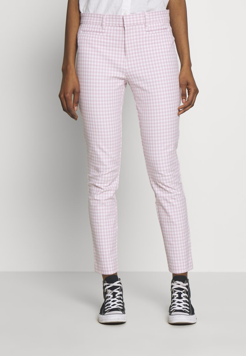 GAP - ANKLE  BISTRETCH - Trousers - pink