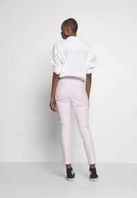 GAP - ANKLE  BISTRETCH - Trousers - pink - 2