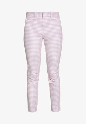 ANKLE  BISTRETCH - Trousers - pink