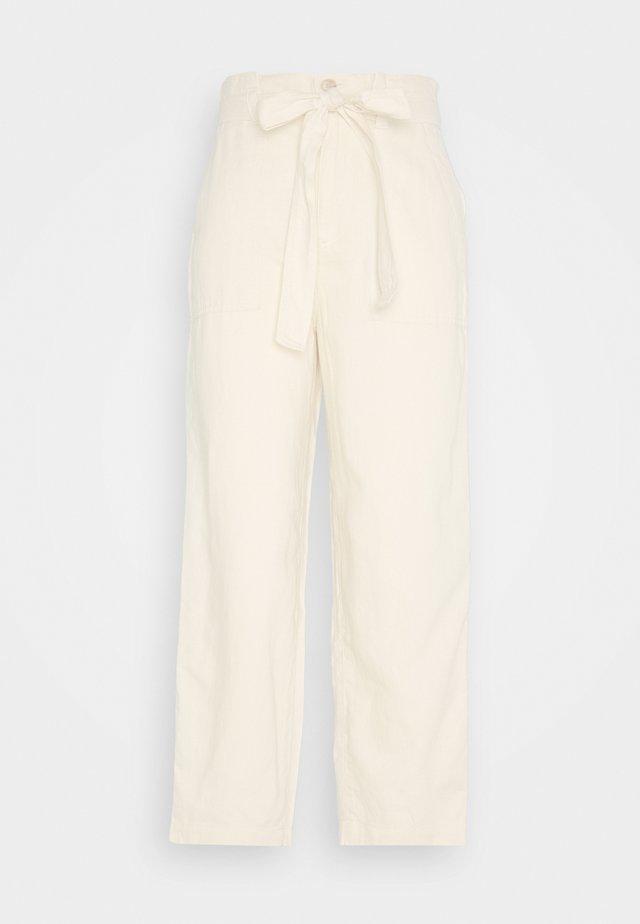 PAPERBAG - Spodnie materiałowe - french vanilla