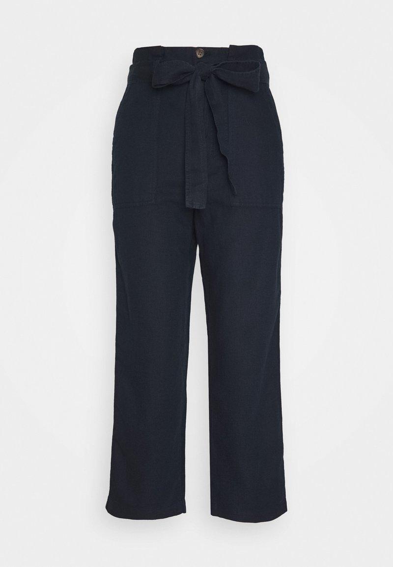 GAP - PAPERBAG - Trousers - true indigo