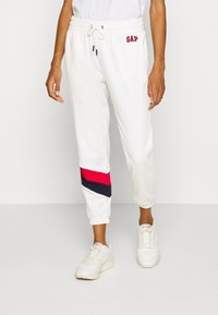 GAP - GAP USA - Tracksuit bottoms - milk global - 0
