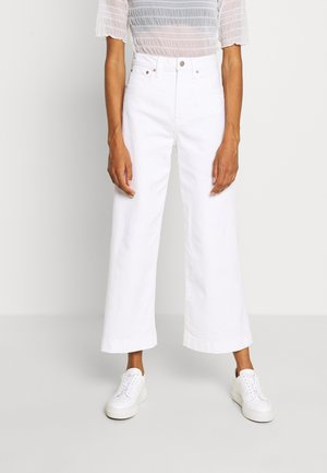 WIDE LEG ANKLE DOVE - Relaxed fit jeans - novelty dove white