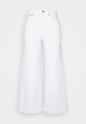 WIDE LEG ANKLE DOVE - Jeans relaxed fit - novelty dove white