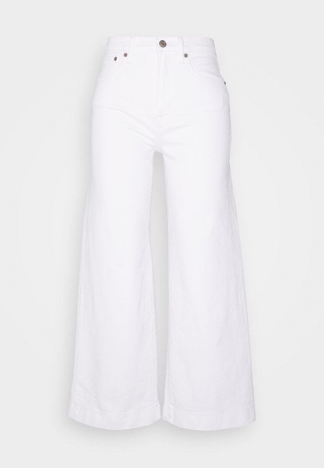 WIDE LEG ANKLE  - Jeans relaxed fit - novelty dove white