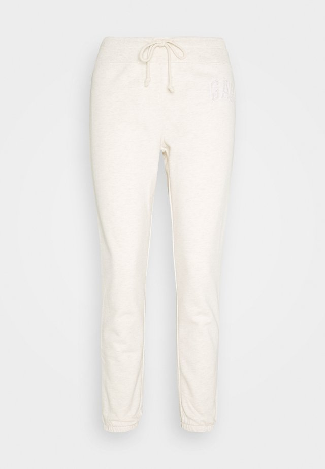 Tracksuit bottoms - oatmeal heather
