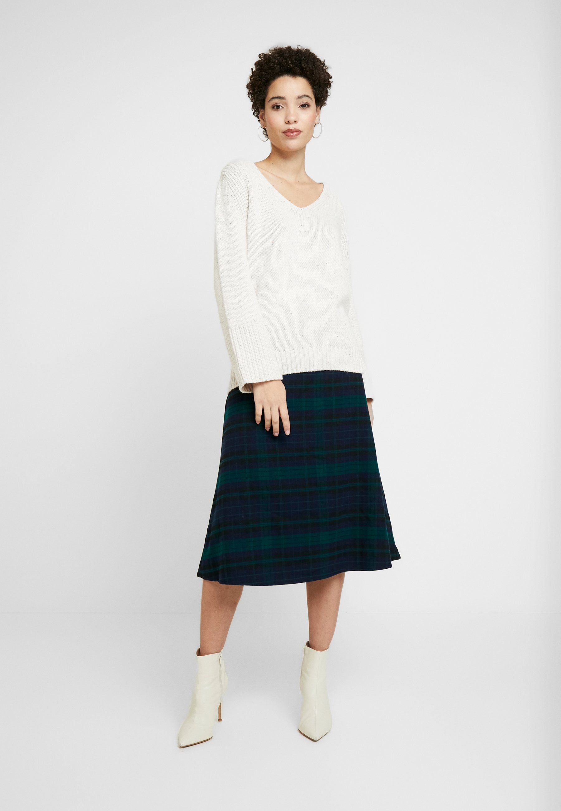 GAP FLARE SKIRT - Spódnica trapezowa - blackwatch