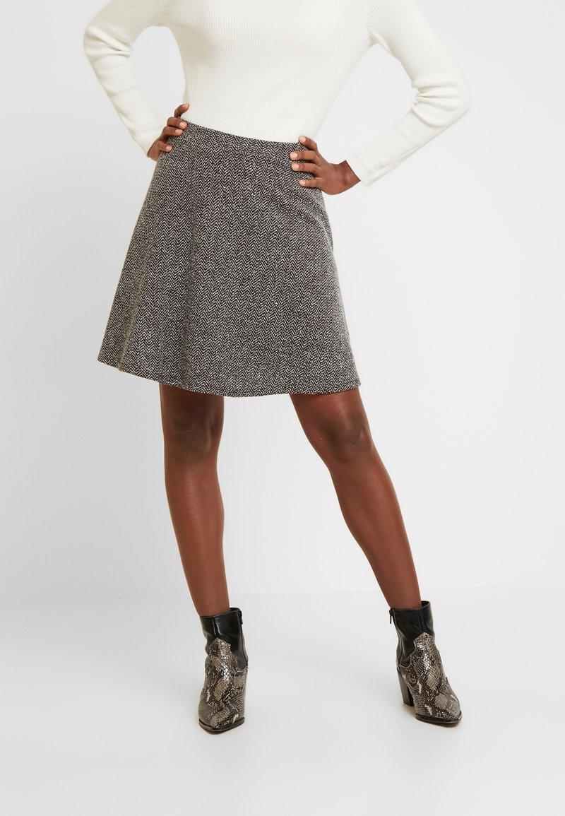 GAP - SKIRT - Áčková sukně - black