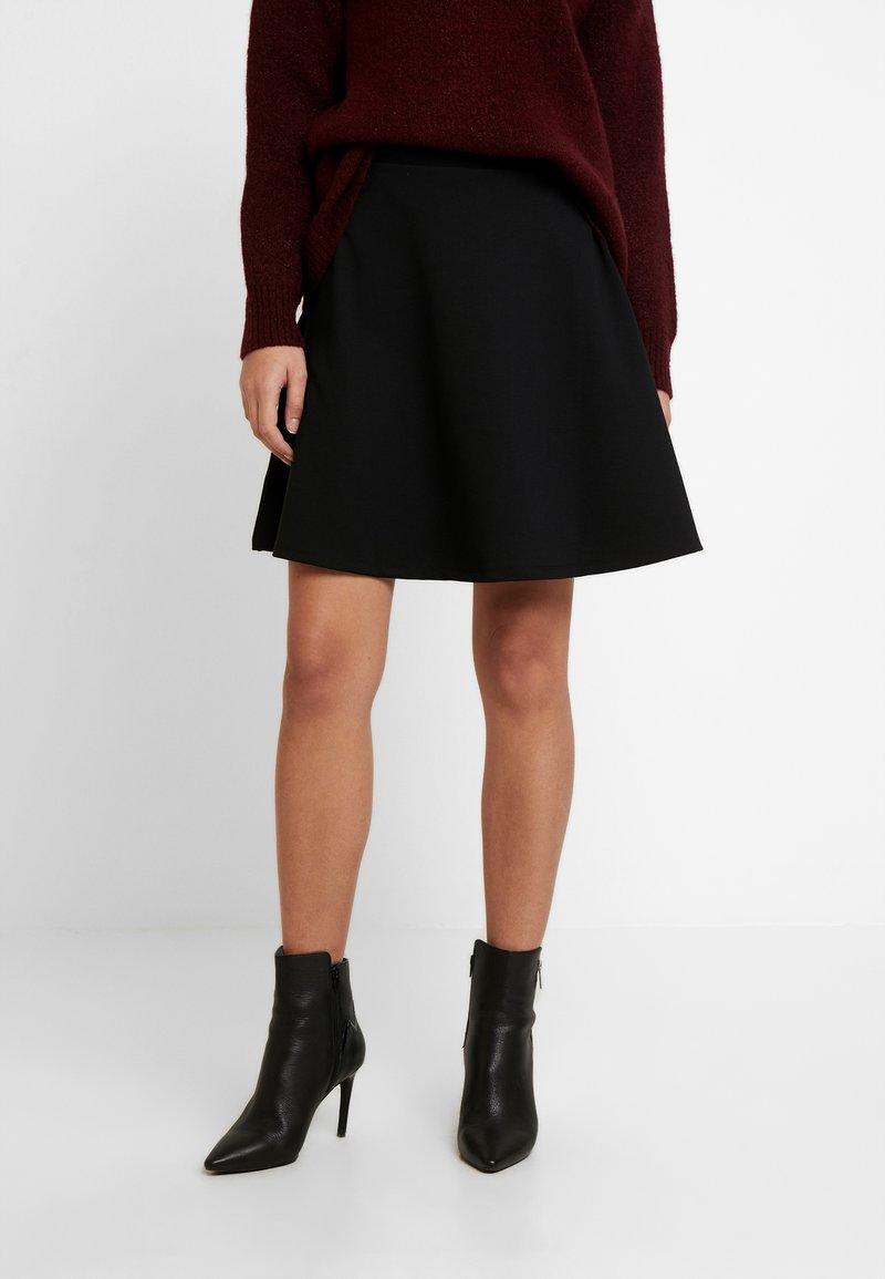 GAP - SKIRT - A-line skirt - true black