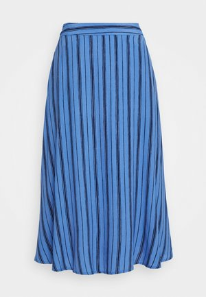 CIRCLE SKIRT - Áčková sukně - blue