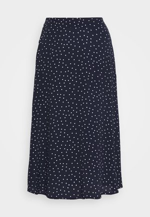CIRCLE SKIRT - A-line skjørt - navy