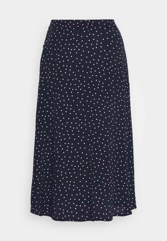 CIRCLE SKIRT - A-snit nederdel/ A-formede nederdele - navy