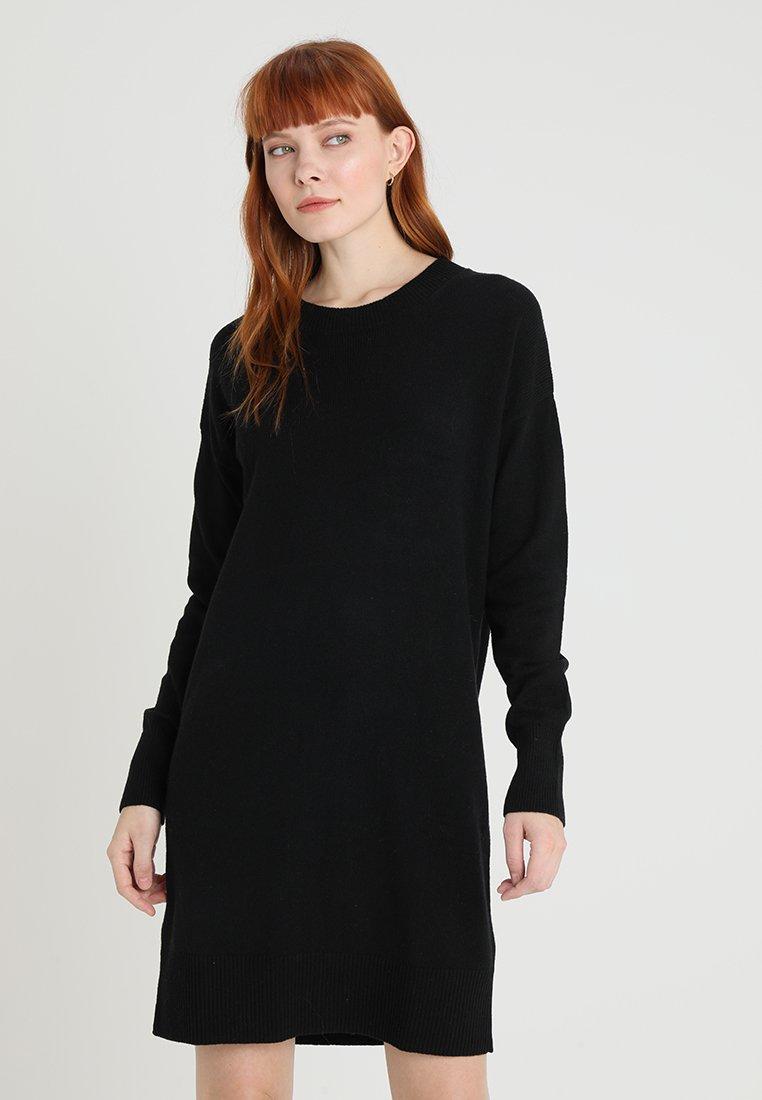GAP - DRESS - Strickkleid - true black