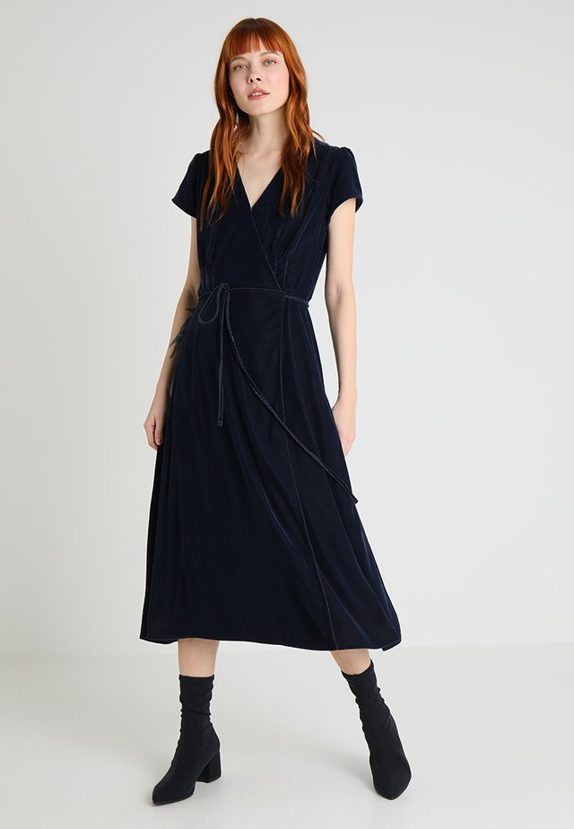 Maxi dress - navy uniform
