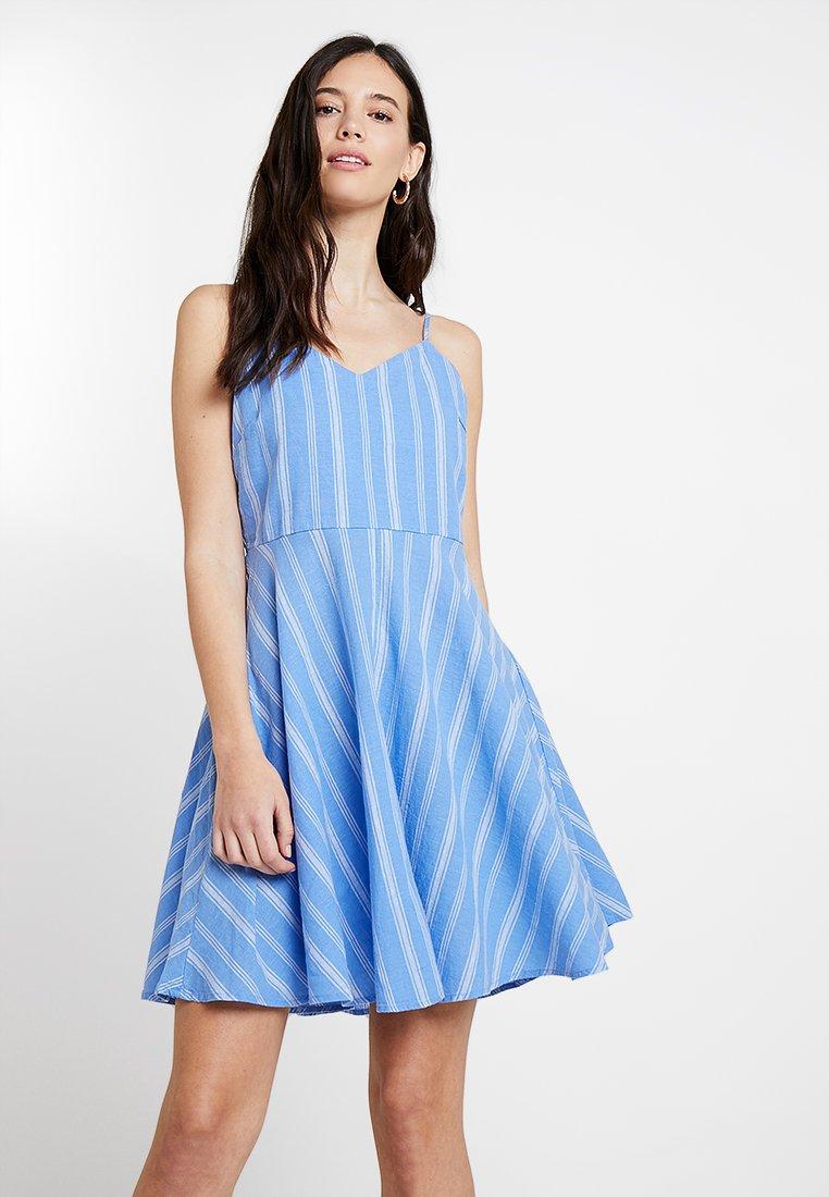 GAP - V SOFT CAMI - Robe d'été - blue