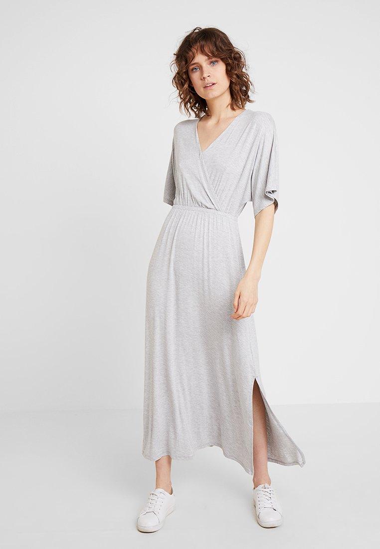 GAP - V KIMONO - Maxi dress - heather grey