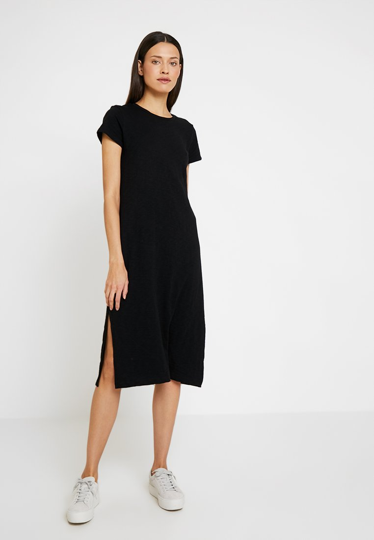 GAP - MIDI DRESS - Jerseykleid - true black