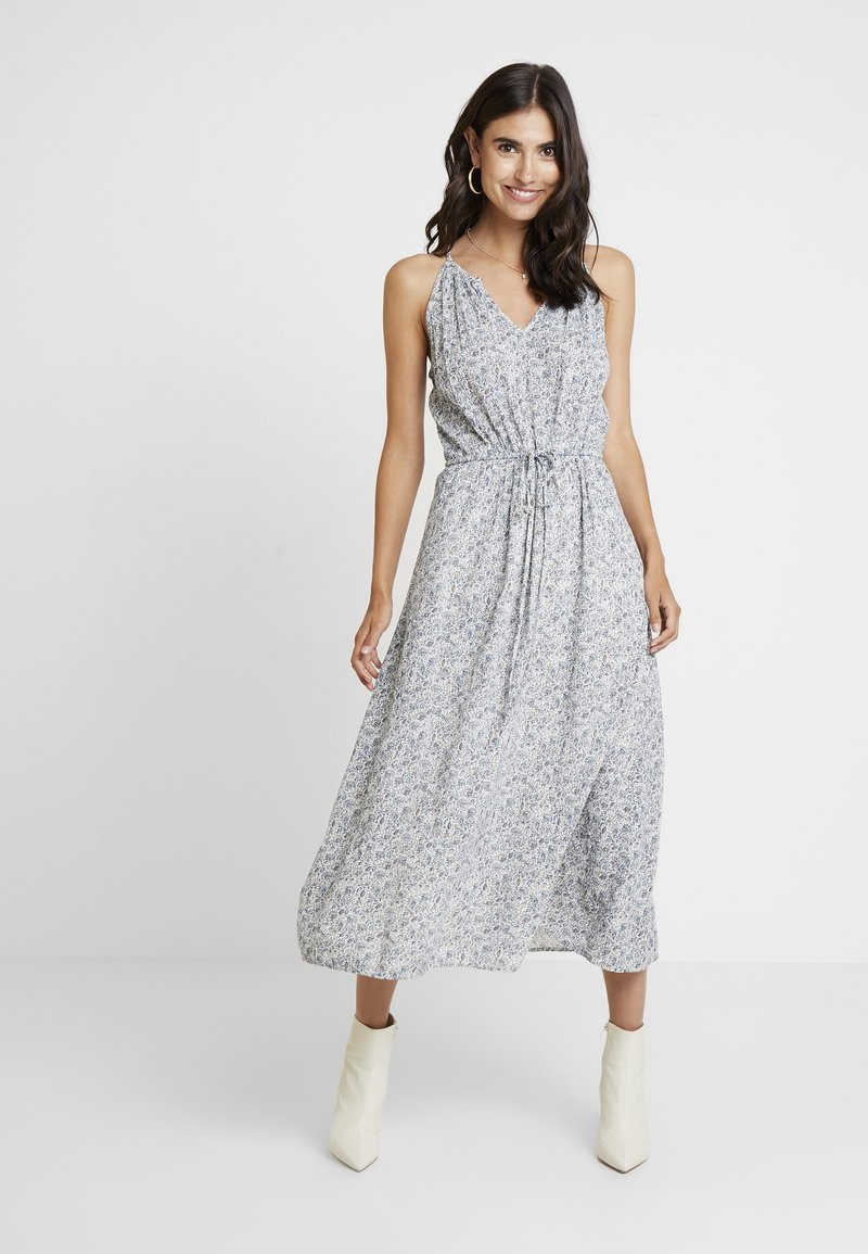 GAP - HALTER DRESS - Vestido largo - blue