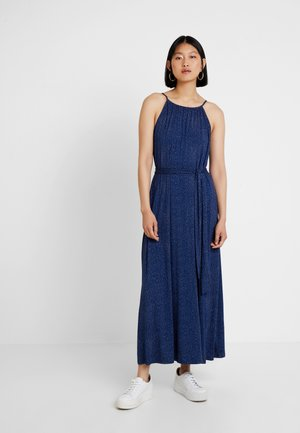 Długa sukienka - ivory/navy