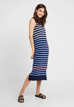 KEYHOLE MIDI - Maxi dress - navy