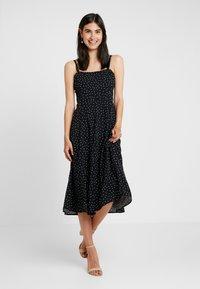 GAP - CAMI - Długa sukienka - black - 0